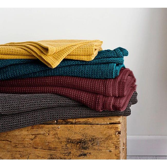 Canningvale Toscana Blanket - Nero Charcoal - 1