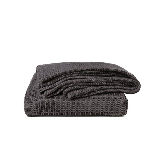 Canningvale Toscana Blanket - Nero Charcoal - 0