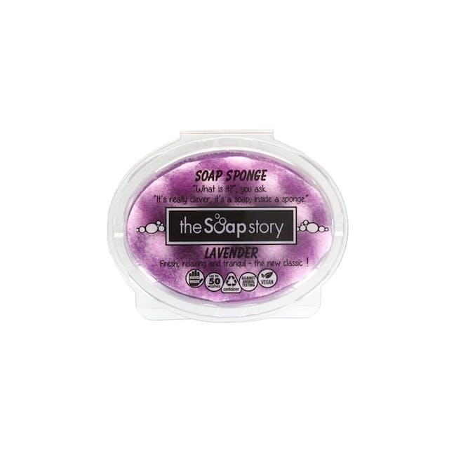 Soap Sponge 150g: Lavender - 0