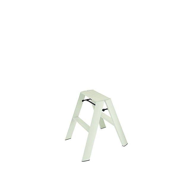 Hasegawa Lucano Aluminium 2 Step Stool - Mint Green - 0