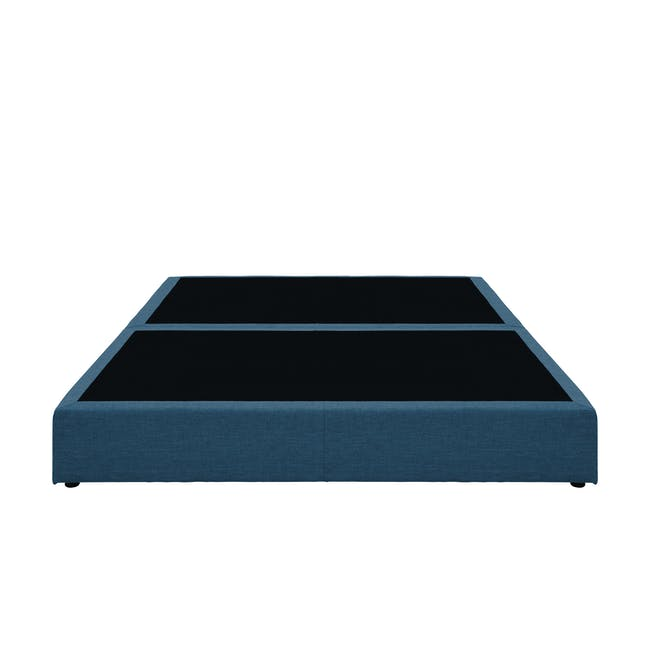 ESSENTIALS King Box Bed - Denim (Fabric) - 1