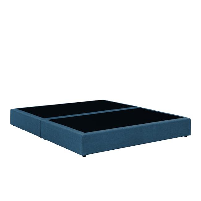 ESSENTIALS Queen Box Bed - Denim (Fabric) - 2