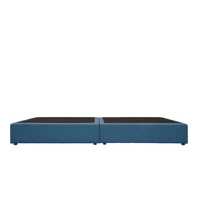 ESSENTIALS Queen Box Bed - Denim (Fabric) - 3