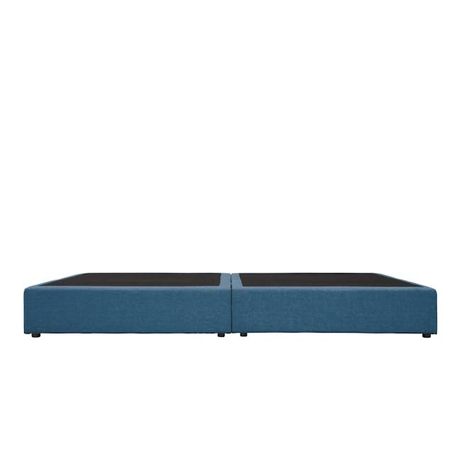 ESSENTIALS Super Single Box Bed - Denim (Fabric) - 3
