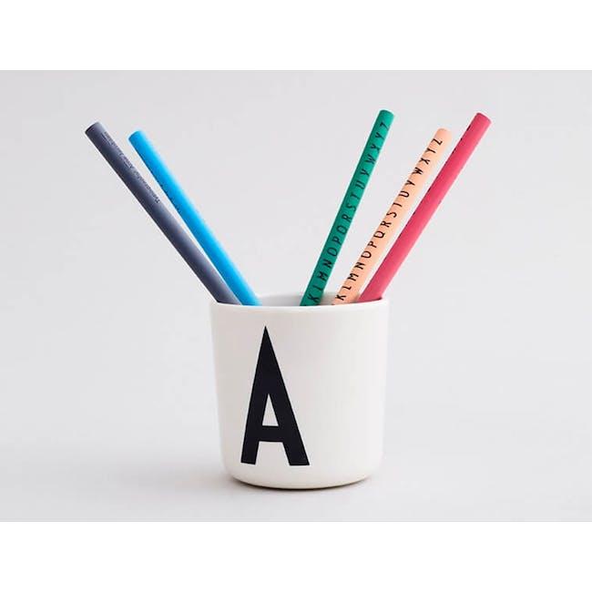 Melamine cup A-J - 3