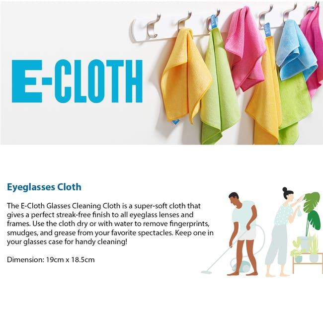 e-cloth Glasses Eco Cleaning Cloth - 2