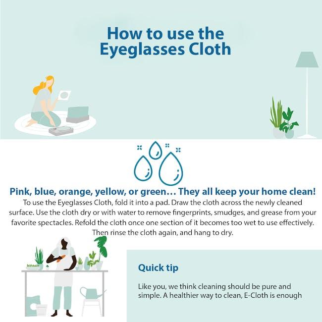 e-cloth Glasses Eco Cleaning Cloth - 5