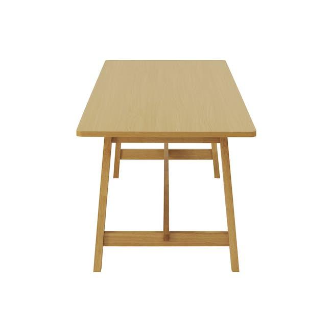 Haynes Table 2.2m - Oak - 5
