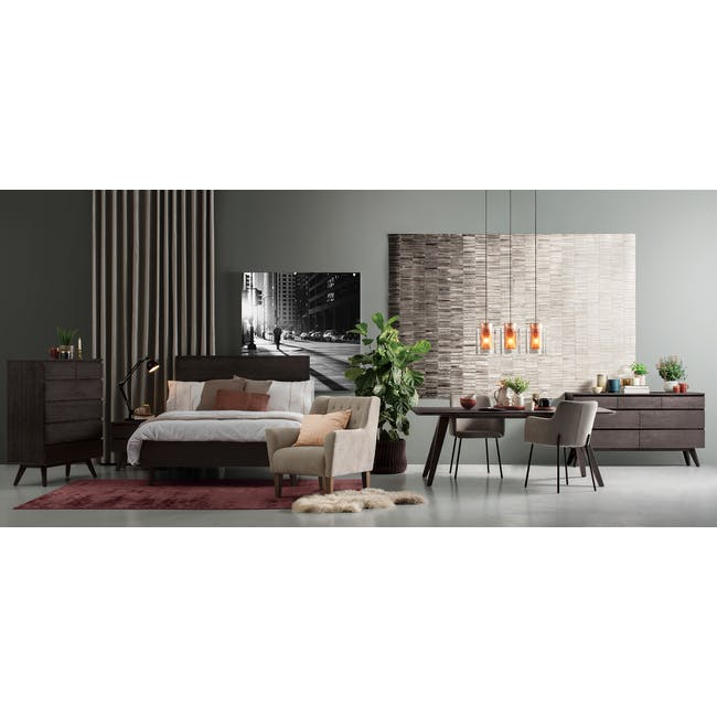 Maeve Coffee Table with Maeve Bedside Table - 11