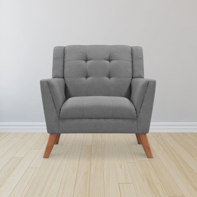 Stanley Armchair - Siberian Grey - 1