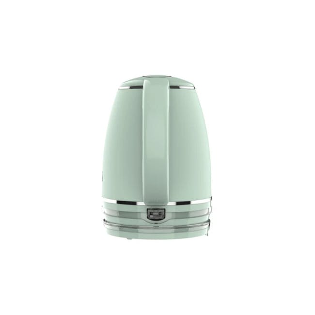 Odette Riviera 1L Insulated Double Wall Cool Touch Electric Kettle - Light Green - 1