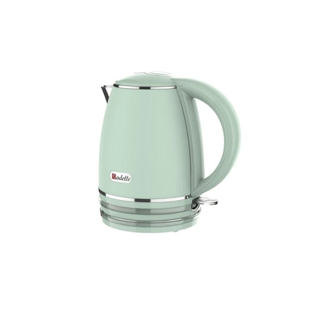 Odette Riviera 1L Insulated Double Wall Cool Touch Electric Kettle - Light Green - 2