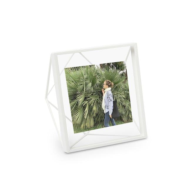 Prisma Square Photo Display - White - 0