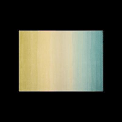 Aqua Fading Sun Rug 3m by 2m - Image 1