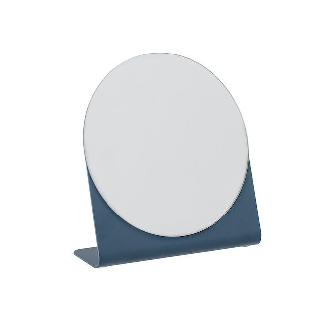 Laura Tabletop Mirror - Blue - 0