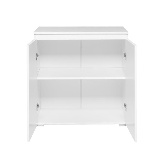 Erika 2-Door Cabinet - White - 2