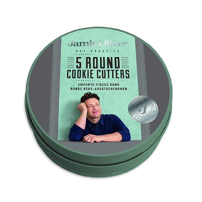 Jamie Oliver Atlantic Green Round Shape Cookie Cutters (Set of 5) - 1