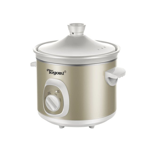 TOYOMI Electric Slow Cooker (2 Sizes) - 0