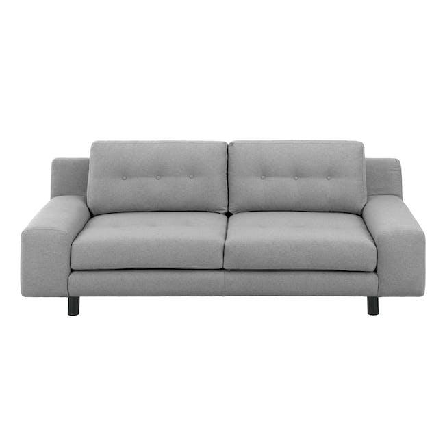 Wyatt 3 Seater Sofa - Slate (Fabric) - 0