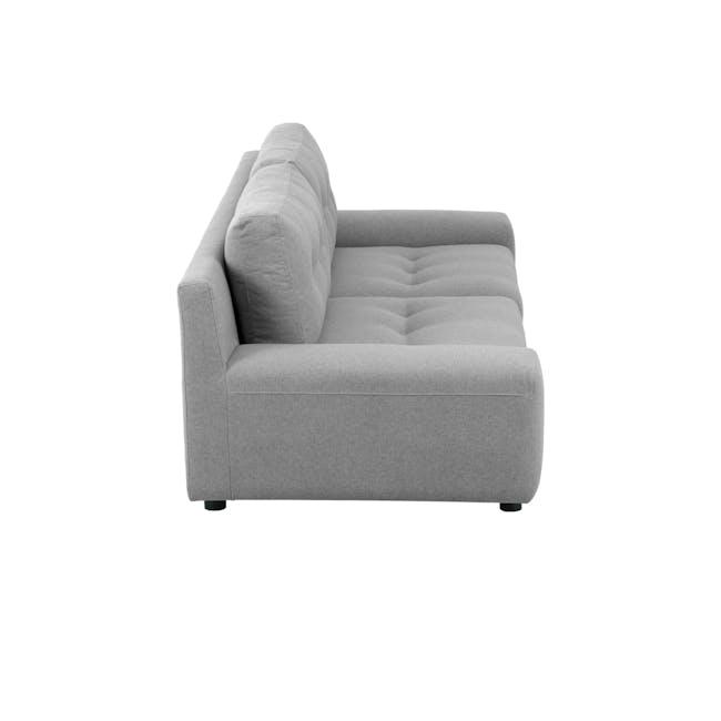 Wyatt 3 Seater Sofa - Slate (Fabric) - 3