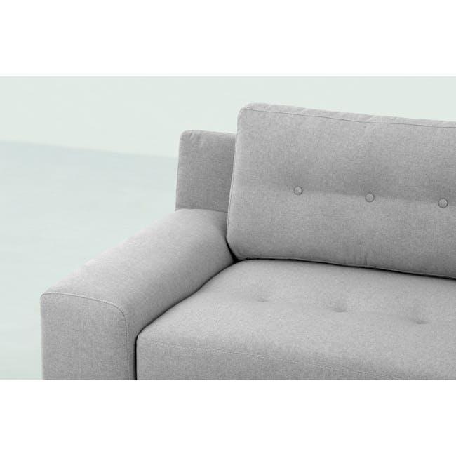 Wyatt 3 Seater Sofa - Slate (Fabric) - 1