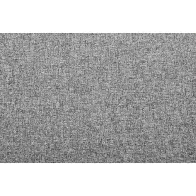 Wyatt 3 Seater Sofa - Slate (Fabric) - 5