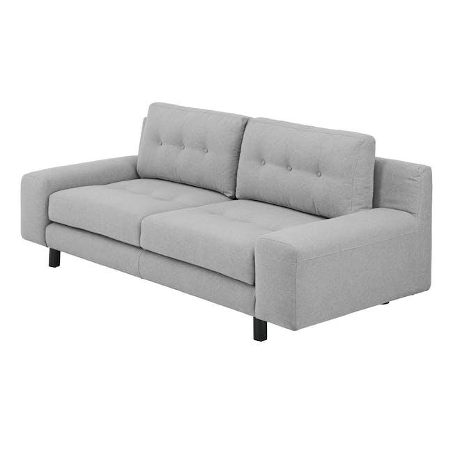 Wyatt 3 Seater Sofa - Slate (Fabric) - 2