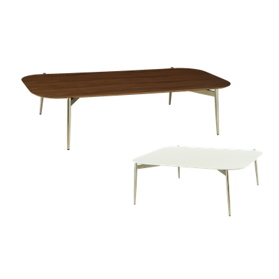 Nova High Coffee Table with Nova Low Coffee Table - Image 1