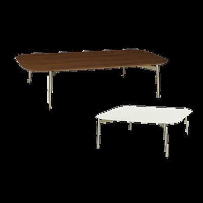 Nova High Coffee Table with Nova Low Coffee Table - Image 1