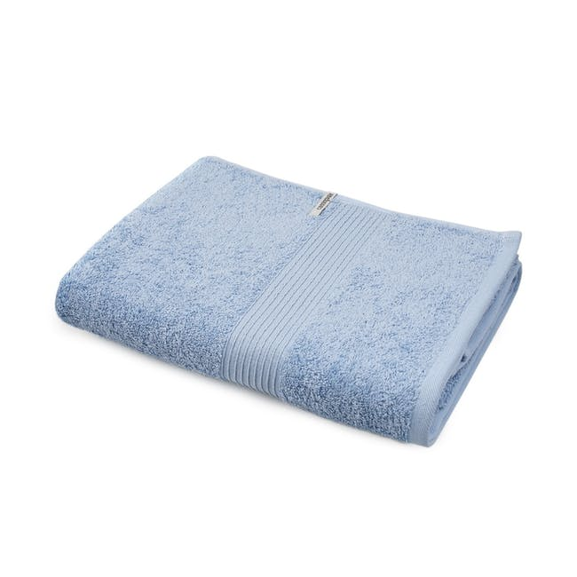 Canningvale Egyptian Royale Bath Towel - Cielo Blue - 0