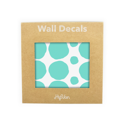 Polka Dot Wall Decal Pack (Pack of 54) - Mint - Image 1
