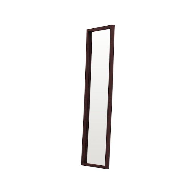 Nelson Full-Length Mirror 40 x 140 cm - Walnut - 2