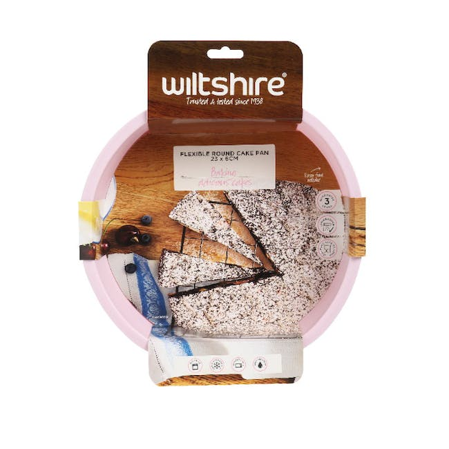 Wiltshire Silicone Round Cake Pan - 2