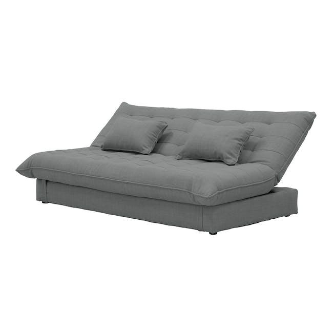 Tessa L-Shaped Storage Sofa Bed - Pigeon Grey - 11