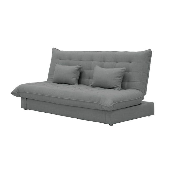 Tessa L-Shaped Storage Sofa Bed - Pigeon Grey - 12