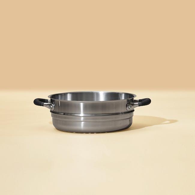 Meyer Accent Series Stainless Steel Steamer Insert - 2