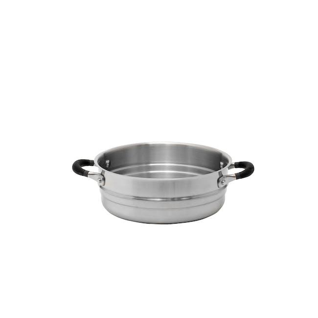Meyer Accent Series Stainless Steel Steamer Insert - 0