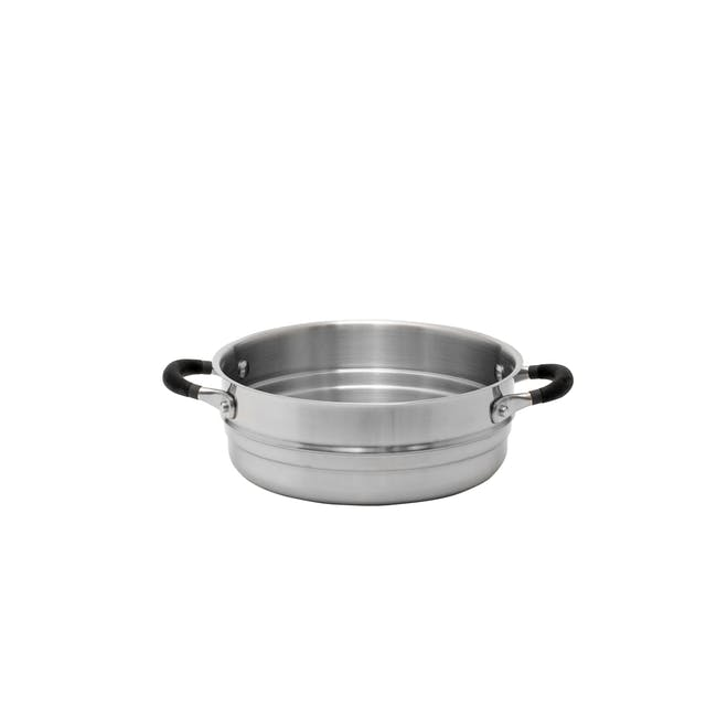 Meyer Accent Series Stainless Steel Casserole with Lid - 24cm 4.7L - 15