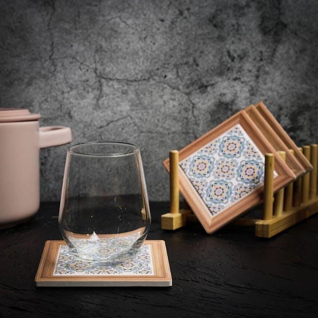 Peranakan Ceramic Cup Coaster - Gayle - 1