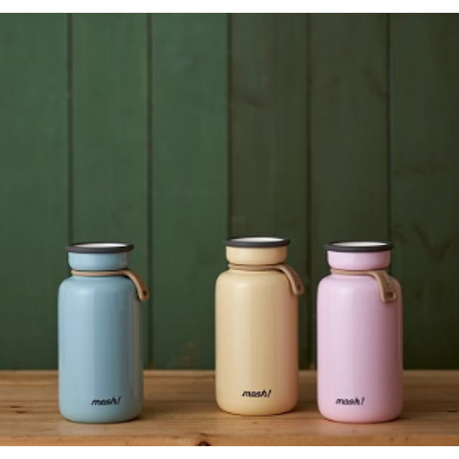 MOSH! Latte Bottle 450ml - Turquoise - 1