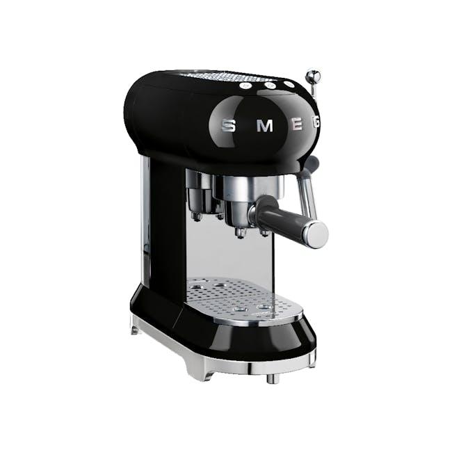 Smeg Espresso Coffee Machine - Black - 0