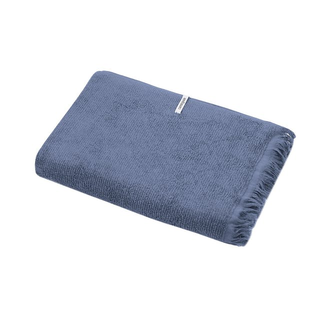 Canningvale Riviera Bath Towel - Denim Blue - 0