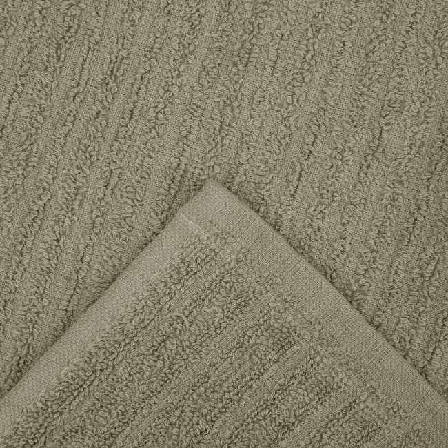 EVERYDAY Bath Towel & Face Towel - Taupe (Set of 4) - 3
