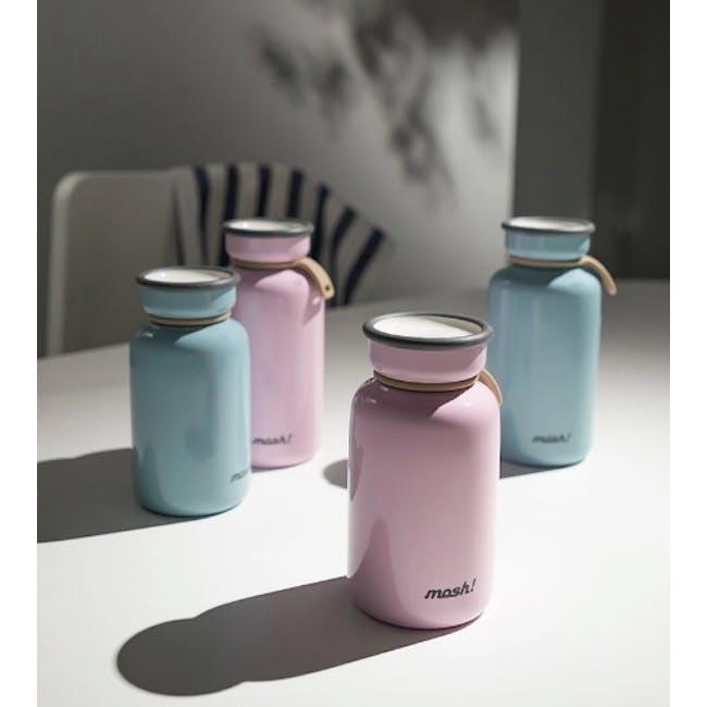 MOSH! Latte Bottle 450ml - Pink - 1