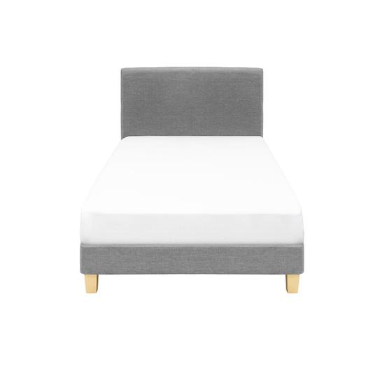Chen Dynasty - ESSENTIALS Super Single Headboard Divan Bed - Grey (Fabric)