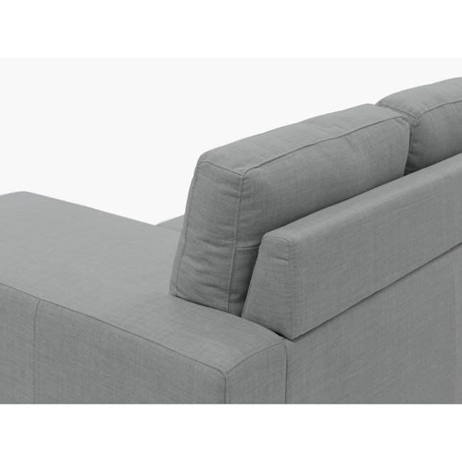Hank L-Shaped Sofa - Pigeon Grey - 6