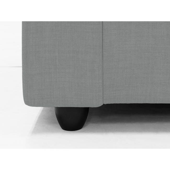 Hank L-Shaped Sofa - Pigeon Grey - 5