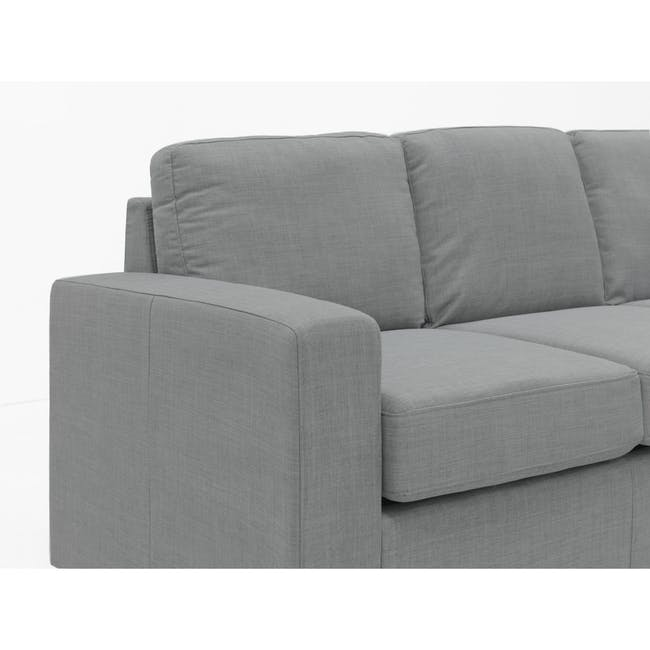Hank L-Shaped Sofa - Pigeon Grey - 4