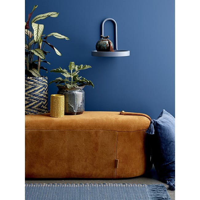 Larry Wall Shelf - Small - Coast Blue - 3