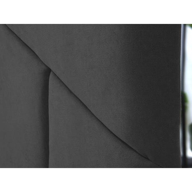 Kieran Queen Bed - Onyx Grey - 9